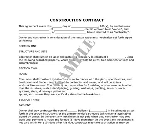 it contractor contract template how to decide on the right renovation contractor kaodim