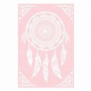 Ou Acheter Un Attrape Reve : plaid pour canap boho attrape r ves coloris rose et blanc sur rapid cadeau ~ Teatrodelosmanantiales.com Idées de Décoration