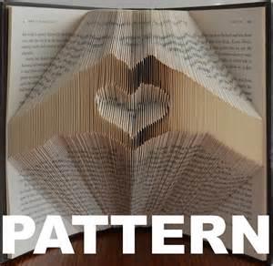 Book Folding Heart Free Patterns
