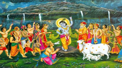 {2016}* Happy Govardhan Puja Wallpapers, Facebook Cover