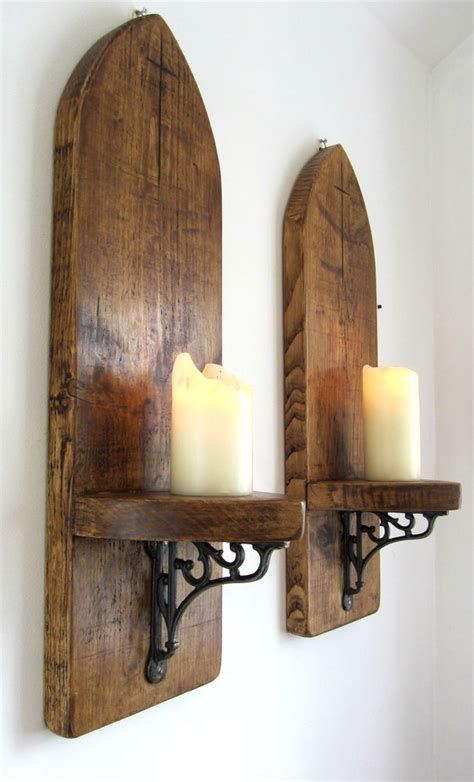 details  pair  huge cm gothic arch rustic solid
