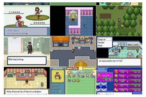 pokemon rom hack download ds
