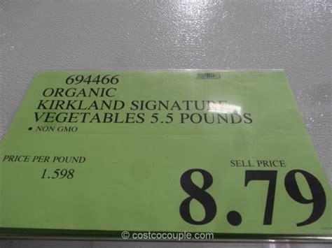 Kirkland Signature Organic Vegetable Medley