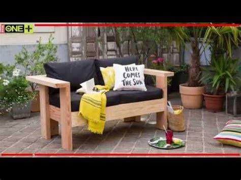 fabriquer un canapé en bois fabriquer un salon de jardin en bois tutoriel bricolage