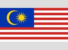 Malaysia Flaggen der Länder