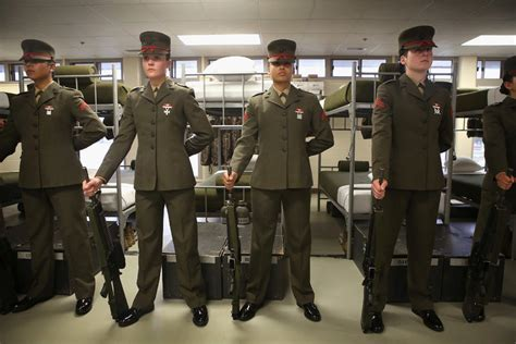 separate   equal   marine corps   york times