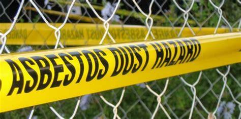asbestos disposal   removal company mesothelioma