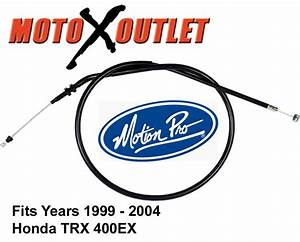 Honda 400ex Clutch Cable Trx 400 Ex 1999 2000 2001 2002 2003 2004 Motion Pro Atv