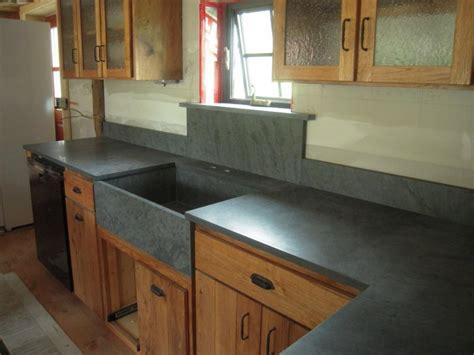 Black And White Kitchen Floor Ideas - slate kitchen countertops photos