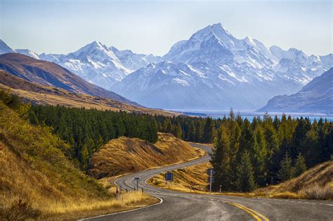 Mount Cook New Zealand World For Travel