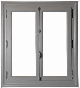 Fenetre Pvc Gris : fenetre pvc gris clair yv88 jornalagora ~ Premium-room.com Idées de Décoration
