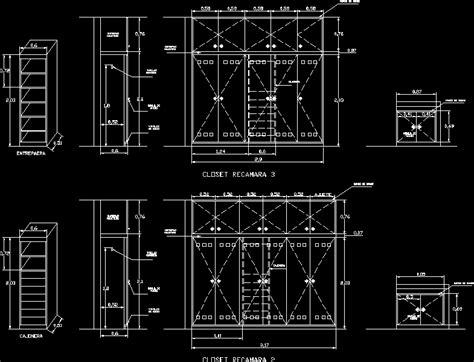 closet dwg detail  autocad designs cad