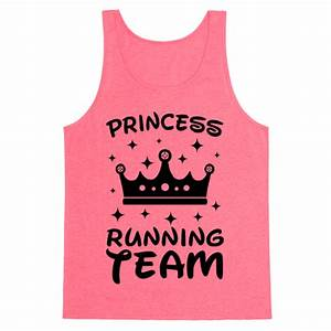 Princess Running Team Neon Tank Top HUMAN