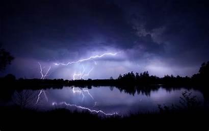 Lightning Storm Desktop Wallpapers Pixelstalk