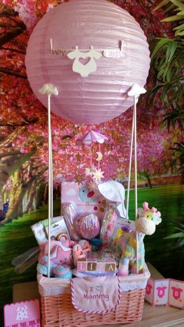 Baby Shower Gift Ideas - baby shower air balloon gift basket diy decoraci 243 n
