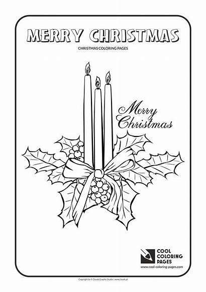 Coloring Christmas Candles Pages Cool Activities Gifts