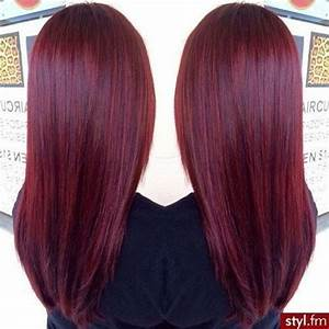 Cherry wine hair color in 2016, amazing photo HairColorIdeas