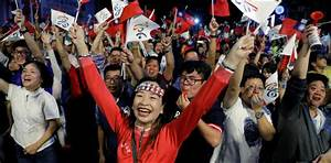 China lauds voters after defeat of Taiwan's ruling party