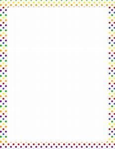 Polka Dot Border Clip Art Many Interesting Cliparts