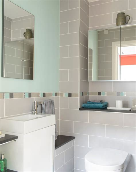 gray white and teal bathroom stay neat and tidy with stylish bathroom cabinets the