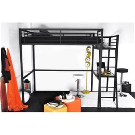 lit à étage avec bureau lit mezzanine 2 places achat vente lit mezzanine 2