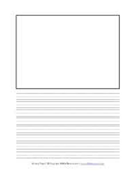 lined paper kindergarten printable coloring wall