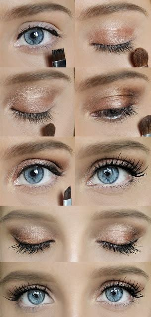 heres  easy trick  create natural eye makeup women