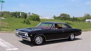 1967 Chevy Chevelle Ss 396 Black Red Interior
