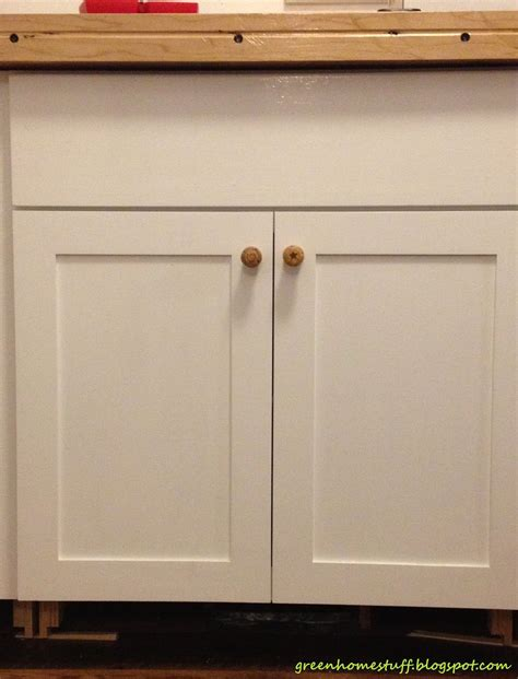 Kitchen Cabinet Doors With Knobs sweet white finished wooden kitchen cabinet doors with
