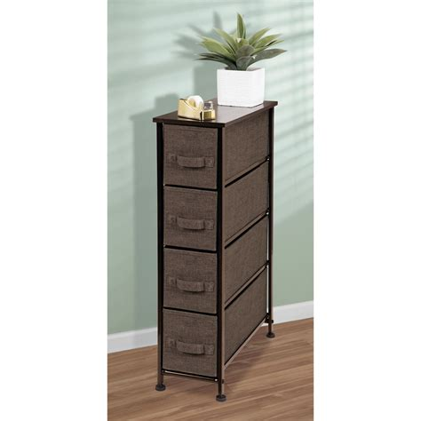 Small Narrow Drawer Unit by Mdesign Fabric Narrow 4 Drawer Dresser And Storage