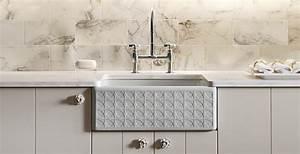 porcelain farmhouse bathroom sink house decor ideas With apron sink vs farm sink