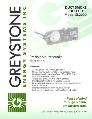 Duct Smoke Detector Ontario Fill Online