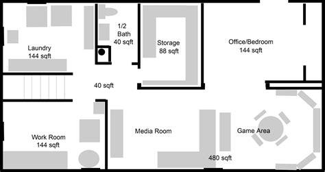 basement floor plans layouts basement planning the plan