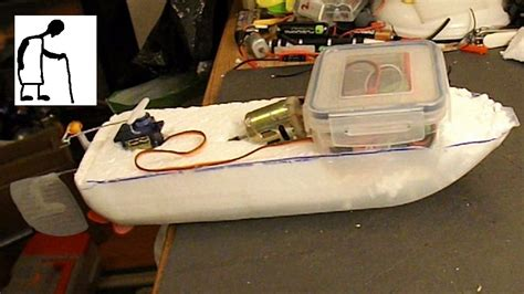 Rc Boats How To Make by Milk Rc Boat Part 1 The Build