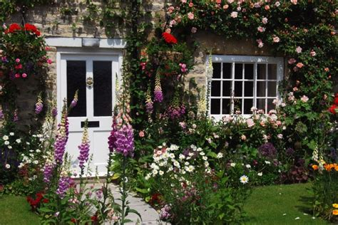 Cottage Style Fireplace by Cottage Garden Ideas