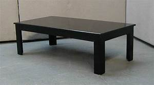Rose wood furniture black coffee table for Dark wood and metal coffee table