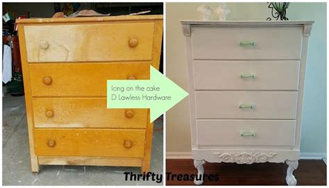 thrifty treasures icing on the cake a dresser makeover