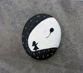 black white and bathroom decorating ideas painting stones 40 ideas for original tinkering with