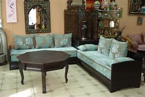 Meuble Salon Moderne : meuble marocain moderne de salon salon marocain ~ Premium-room.com Idées de Décoration