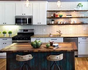fabriquer un ilot de cuisine 35 idees de design creatives With fabriquer sa table de cuisine