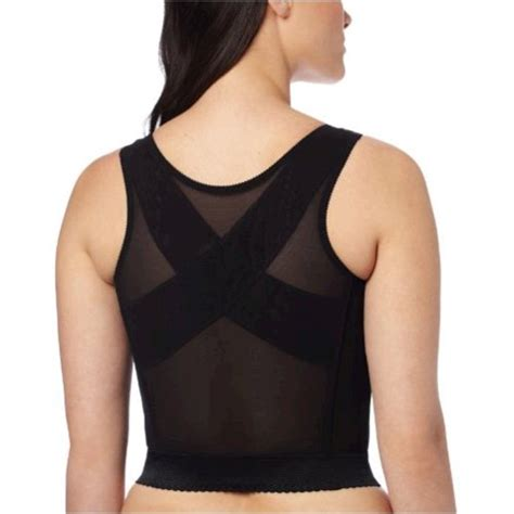 Carnival Women's Front Closure Longline Posture Back ...