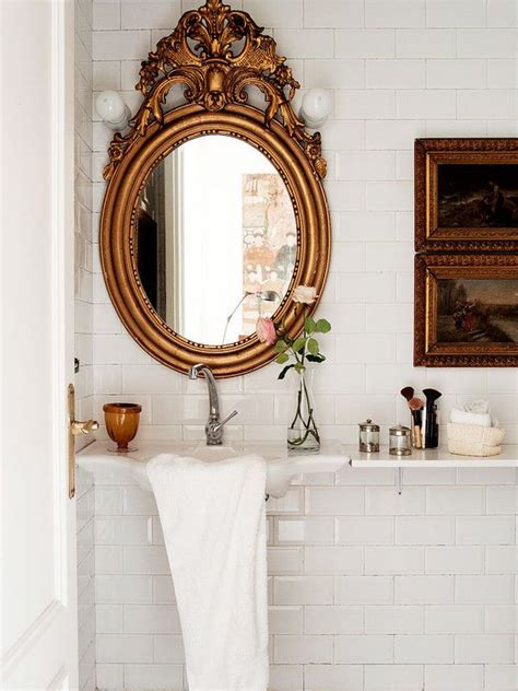 Ornate Bathroom Mirror by 163 Best Images About Small Bathroom Colors Ideas On