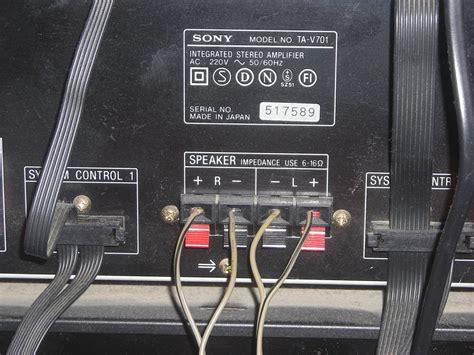 conectar altavoz  equipo de musica  clavijas