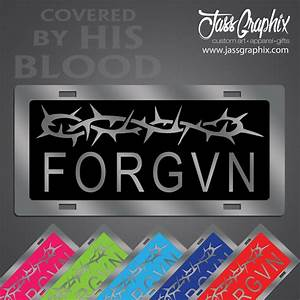 Christian License Plates and Christian Mirror Car Tags