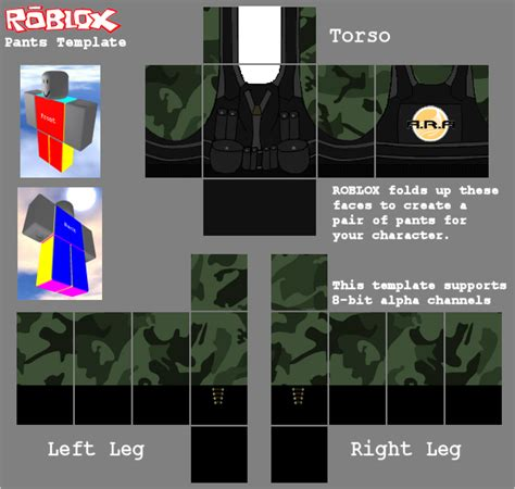 Roblox Military Template