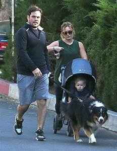 Hilary Duff and Her Family Take a Walk - Zimbio