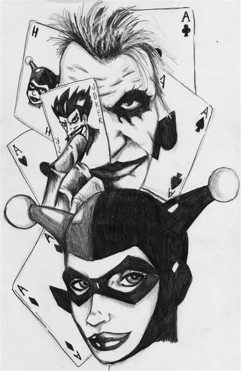 joker and harley quinn scan by darkartistdomain on DeviantArt
