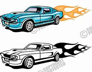 Race Car Flames Clipart (65+)
