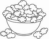 Popcorn Coloring Pages Sheet Template Kernel Drawing Printable Box Colouring Az Sketch Sketches Food Popping Print Getdrawings Bucket Sketchite Dog sketch template