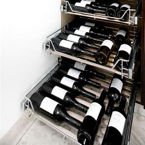 stainless steel   wine storage  kitchen
